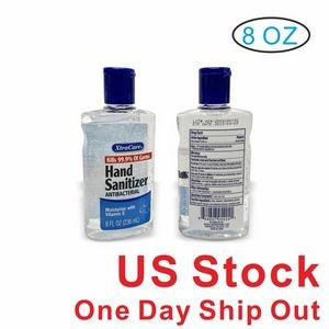 8 Oz. Antibacterial Hand Sanitizer Gel,70% Alcohol (Blank)